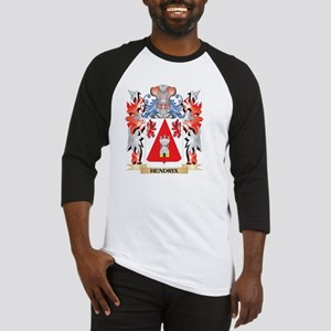 Hendrix Coat of Arms - Family Cres Baseball Jersey