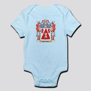 Hendrix Coat of Arms - Family Crest Body Suit
