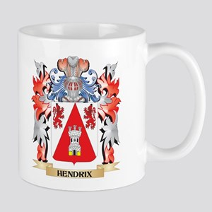 Hendrix Coat of Arms - Family Crest Mugs