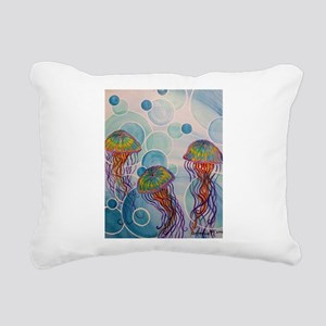 Above Rectangular Canvas Pillow