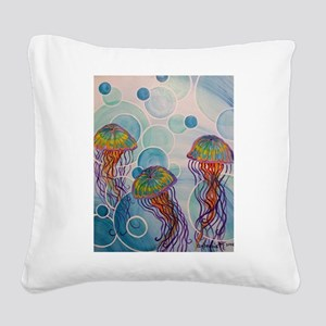 Above Square Canvas Pillow