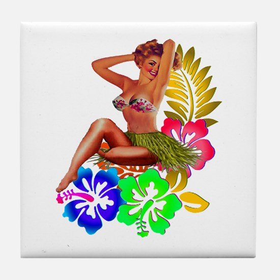 ISLANDER Tile Coaster