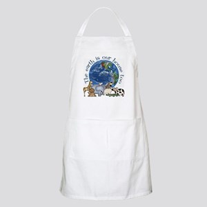 The Earth Is Our House Too BBQ Apron