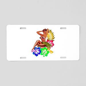 ISLANDER Aluminum License Plate