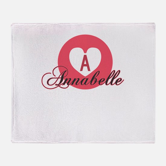 annabelle Throw Blanket