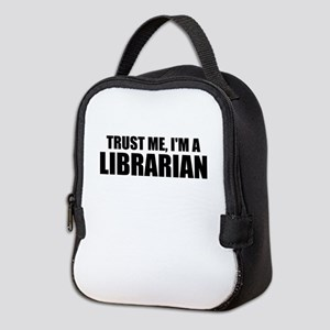 Trust Me, I'm A Librarian Neoprene Lunch Bag