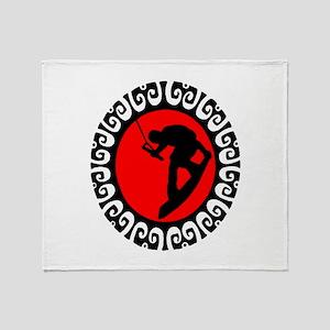 WAKEBOARD Throw Blanket