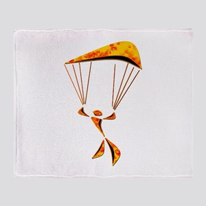 SKYDIVER Throw Blanket