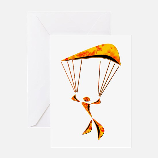 SKYDIVER Greeting Cards