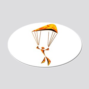SKYDIVER Wall Decal