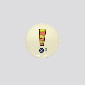 INKYDINKY Exclamation Point Mini Button