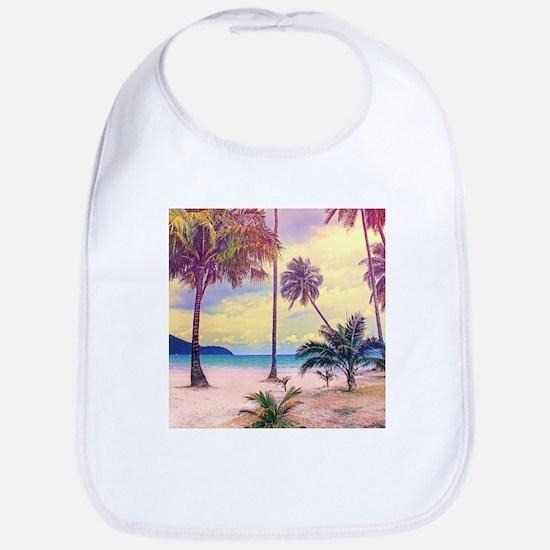 Tropical Beach Bib