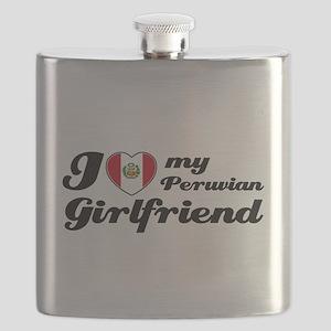 Peruvian Girlfriend Flask