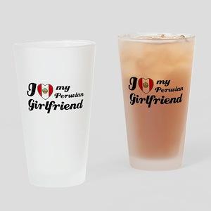 Peruvian Girlfriend Drinking Glass