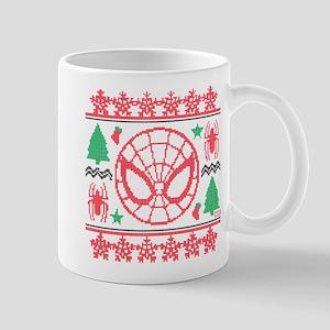 Spider-Man Ugly Christmas Mug