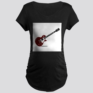 Isolated Rock Guitar Maternity T-Shirt