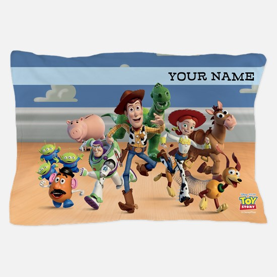Toy Story Characters Personalized Pillow Case