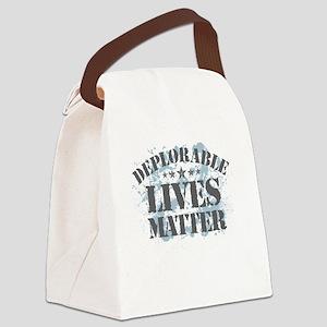 Deplorable Lives Matter Canvas Lunch Bag