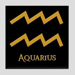 Aquarius Tile Coaster