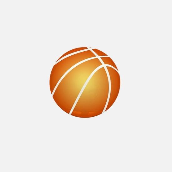 Cute Basketball Mini Button