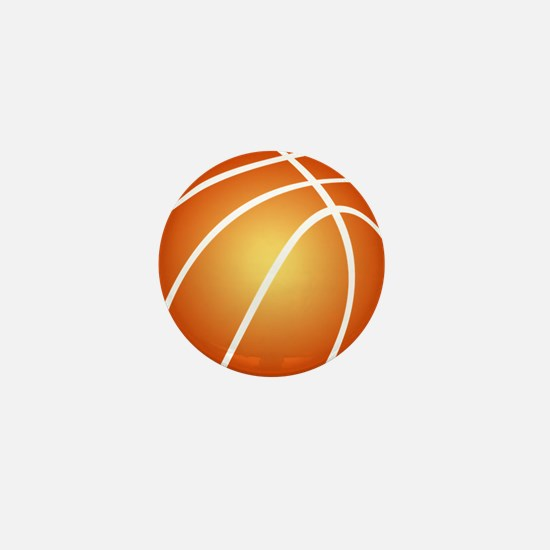 Cute Love and basketball Mini Button