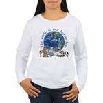 The Earth Is Our House Too Women's Long Sleeve T-S