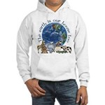 The Earth Is Our House Too Hooded Sweatshirt