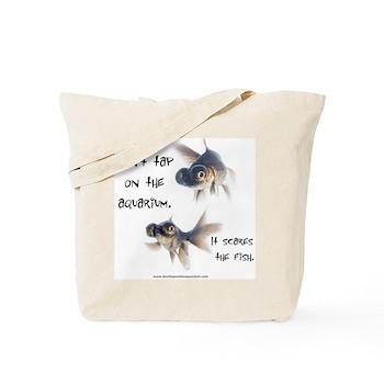 Don't Tap on the Aquarium Poker Tote Bag