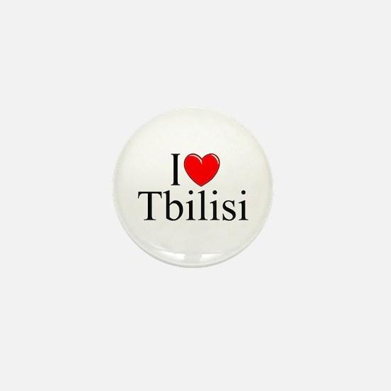 """""""I Love Tbilisi"""" Mini Button"""