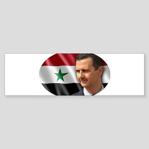 Bashar al-Assad Bumper Sticker