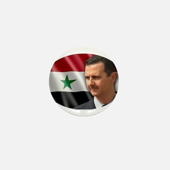Bashar al-Assad Mini Button