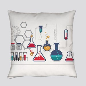 Science Everyday Pillow