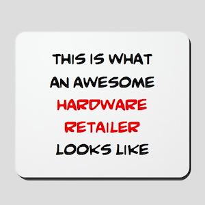 awesome hardware retailer Mousepad