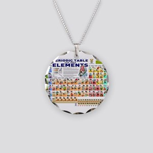 Periodic table jewelry cafepress periodic table necklace circle charm urtaz Image collections