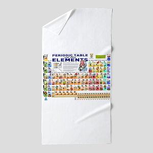 Periodic Table Beach Towel