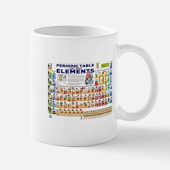Periodic table mugs cafepress periodic table mugs urtaz Image collections