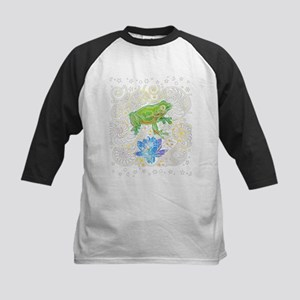 Frog and Lily Baseball Jersey