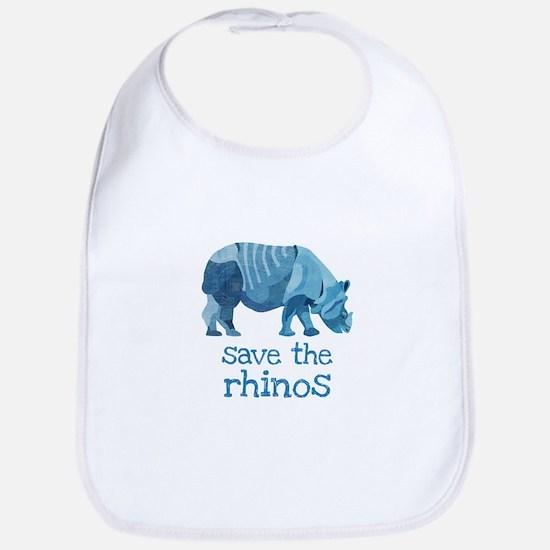 Save the Rhinos Bib