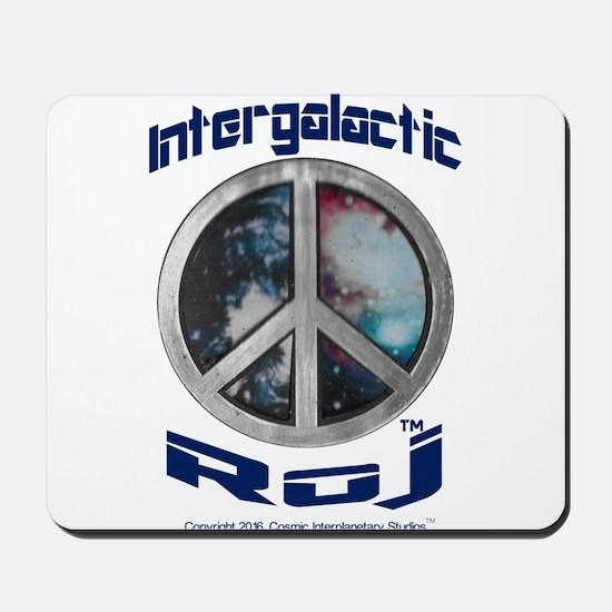 Galactic Interplanetary Roj Logo-2-2 Mousepad