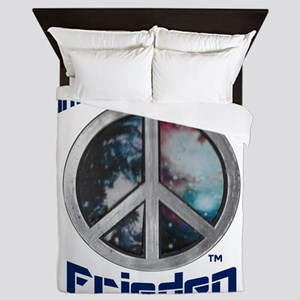 Intergalaktischen Frieden Logo Queen Duvet