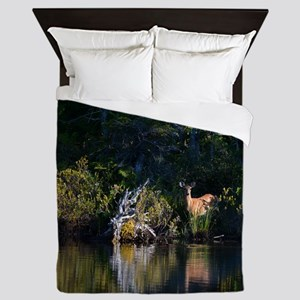 lamb and beaver Queen Duvet