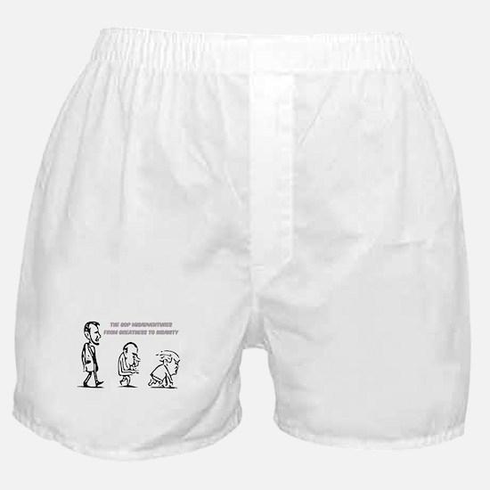 GOP Misadventure Boxer Shorts