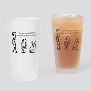 GOP Misadventure Drinking Glass
