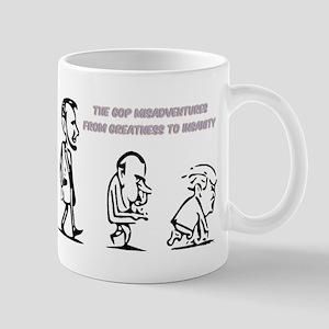 GOP Misadventure Mugs