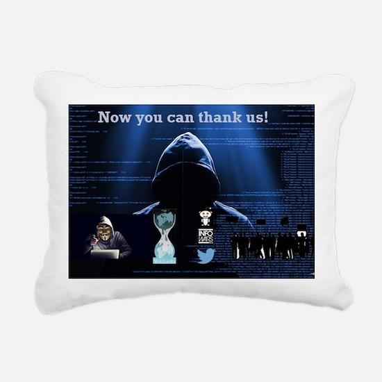 Cool Veritas Rectangular Canvas Pillow