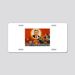 Kim Il-sung - ??? Aluminum License Plate