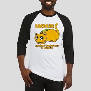 Funny! Taco Cat Baseball Jersey