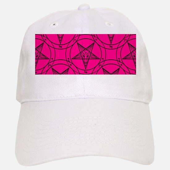 pink baphomet Baseball Baseball Cap