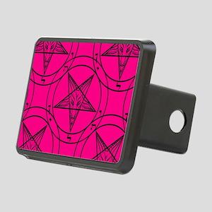 pink baphomet Rectangular Hitch Cover