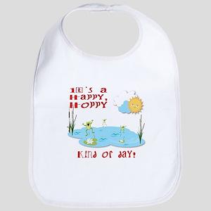 It's a Happy, Hoppy Day!! Bib